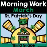 March Morning Work  {Third Grade}