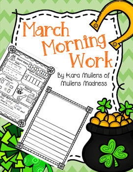 March Morning Work *without science*