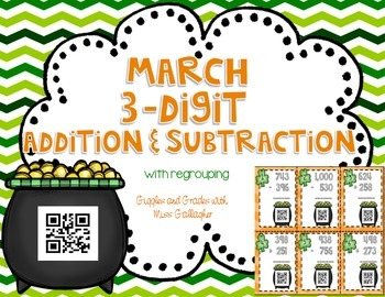 3 Digit Addition and Subtraction- March