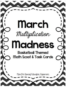 March Multiplication Madness!