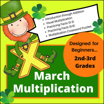 March Multiplication for Beginners (Facts 0-6)