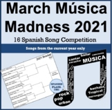 March Music Madness 2021 SpanishPlans