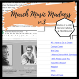 March Music Madness v. 3 | Composer/Musical Artist Bracket & Competition