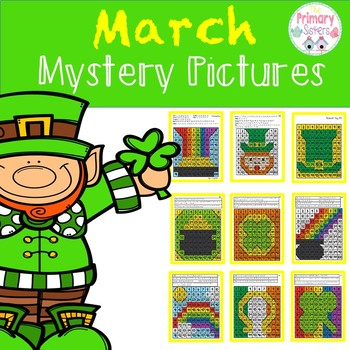March Mystery Picture- Color the 100 Chart