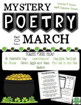 March Mystery Poetry Set