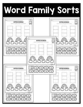 March NO PREP Kindergarten Packet-OVER 100 PAGES!