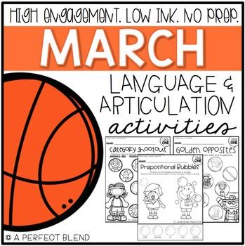 March NO PREP: Language & Articulation