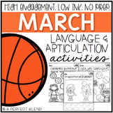 March NO PREP: Language & Articulation