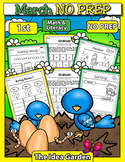 March NO PREP - Math & Literacy (First)