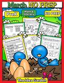 March NO PREP - Math & Literacy (Pre-K)