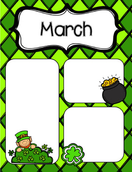 March Newsletters *Editable*