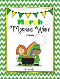 March No Prep Daily Math & Literacy Review