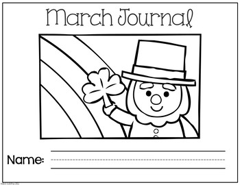 March No Prep Journal Prompts
