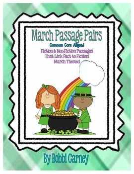 March Non-Fiction & Fiction Paired Passages Common Core