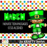 March Non Fiction Reading Comprehension