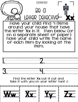 March Not Your Average Homework Packet