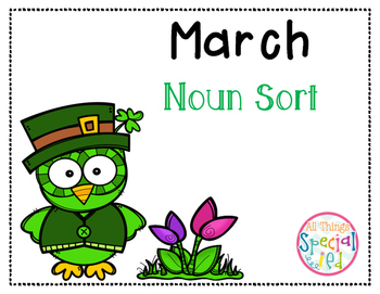 March Noun Sort