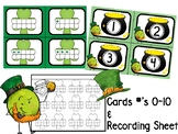 March Number Cards