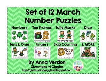 March Number Puzzles