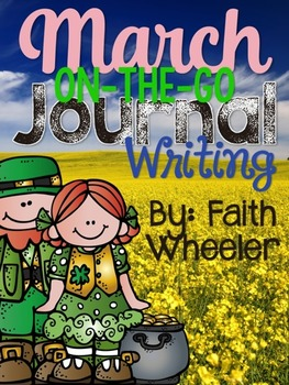 March On-The-Go Journal Writing