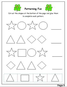 March Finished Work Packet - First Grade