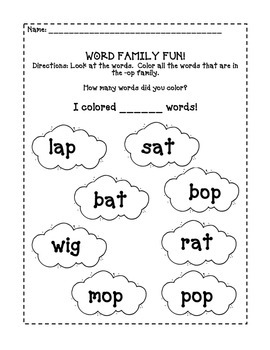 March Packet for Preschool and Pre Kindergarten