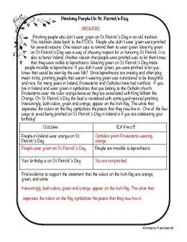 March Paired Reading and Task Cards for Fiction and Nonfiction