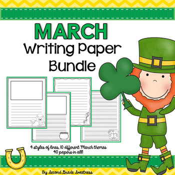 March Writing Paper Bundle