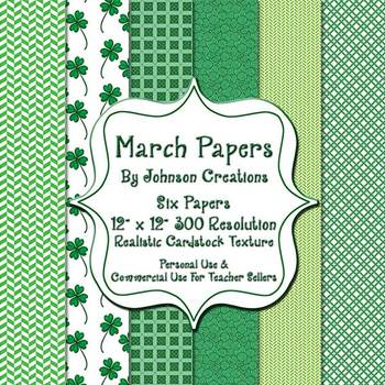 March Papers by Johnson Creations