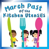Listening Activity for Elementary Music: March of the Kitchen Utensils