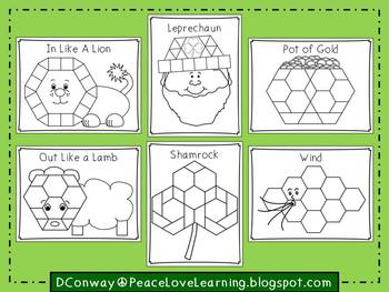 March Pattern Block Pictures