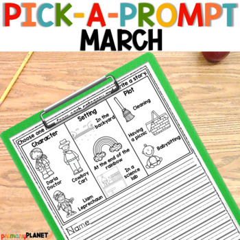 March Visual Writing Prompts Perfect for Writing Workshop