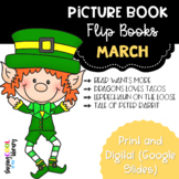 March Picture Book Flip Books - Print and Digital Options