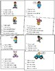 April Picture Comprehension Cards and Worksheets