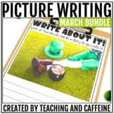 March Picture Writing Prompts BUNDLE