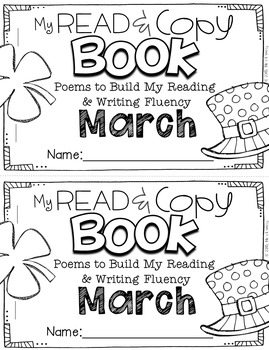 March Poems for Building Reading Fluency & Writing Stamina (K-1)