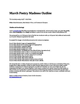 March Poetry Madness!