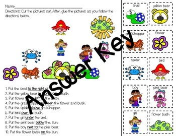 March Adapted Preposition Book