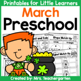 March Preschool Printables