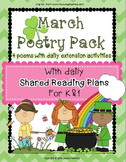 March Poetry Pack ~ w/ daily Shared Reading Plans {Common Core Aligned}