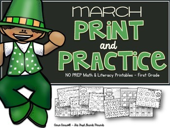 NO PREP Printable Math& Literacy Activities