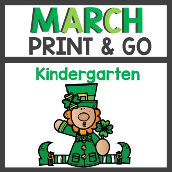 March Print and Go Activities