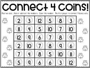 March Printable Math Games