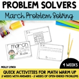 March Problem Solving