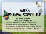 March Problem Solving for the Promethean Board