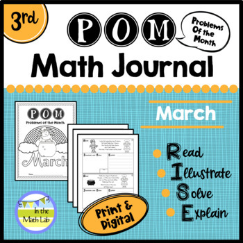 March Problems of the Month (POM) Math Pack - 3rd Grade