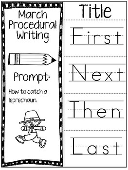 March Procedural Writing