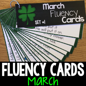 March Progressive Fluency Cards