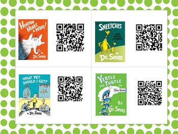 March QR Codes for Read Alouds