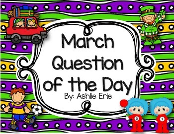 March Question of the Day